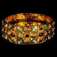 The diadem of the Iron Crown