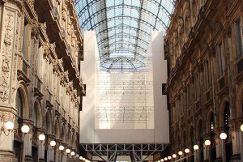 Restoration of Galleria Vittorio Emanuele II by Gasparoli Srl