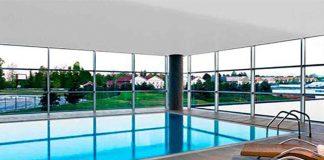 Indoor swimming pool Sheraton Malpensa