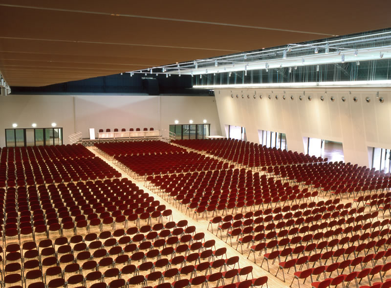 The auditorium of MiCo