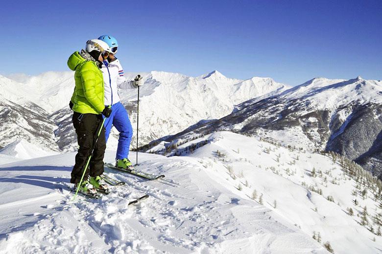 Alpine ski in Northern Italy