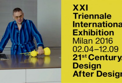 3 - 21st Triennale of Milan. Poster Campaign by KK (Netherlands)