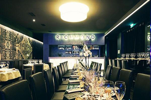 Richmond café new restaurant and lounge bar in via