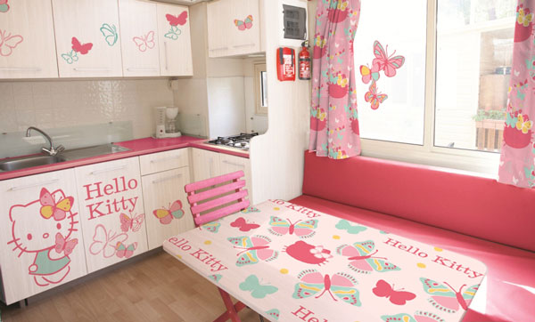Where Is The Hello Kitty House Located hello kitty house: the cutest mobile home for your holidays is in