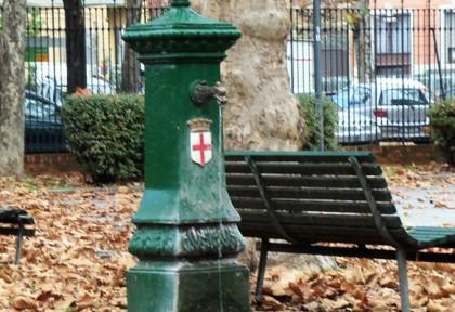 free water in Milan