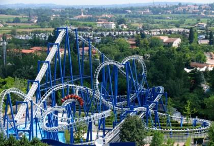 gardaland theme park near milan