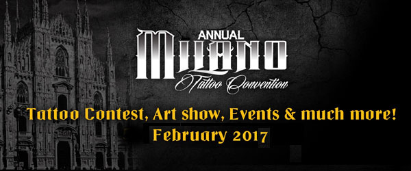 Milano tattoo convention 2017 where milan what to do for Nc tattoo conventions 2017