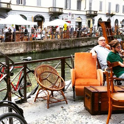 navigli antiques market (c) epeverata