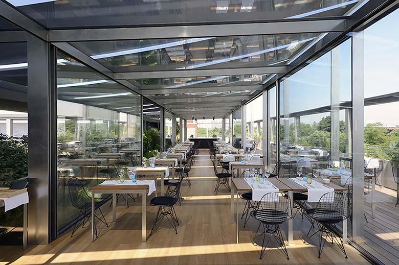 Rooftop Restaurant Terrazza Triennale Osteria Con Vista