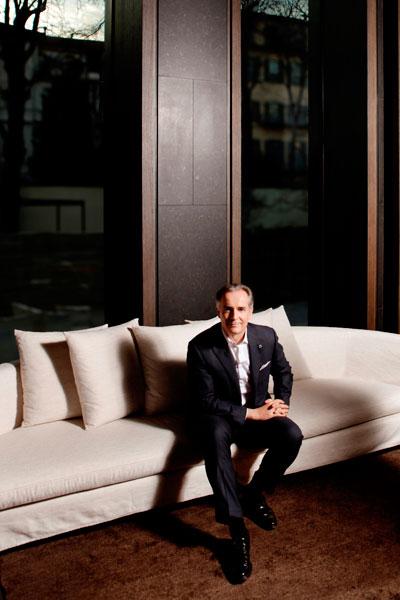 Attilio Marro, general manager at Bulgari Hotel
