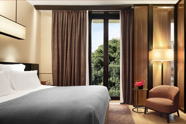 Deluxe Room at Bulgari Hotel Milan