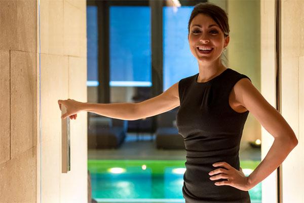 Bulgar Hotel: Spa manager Valentina Spennato