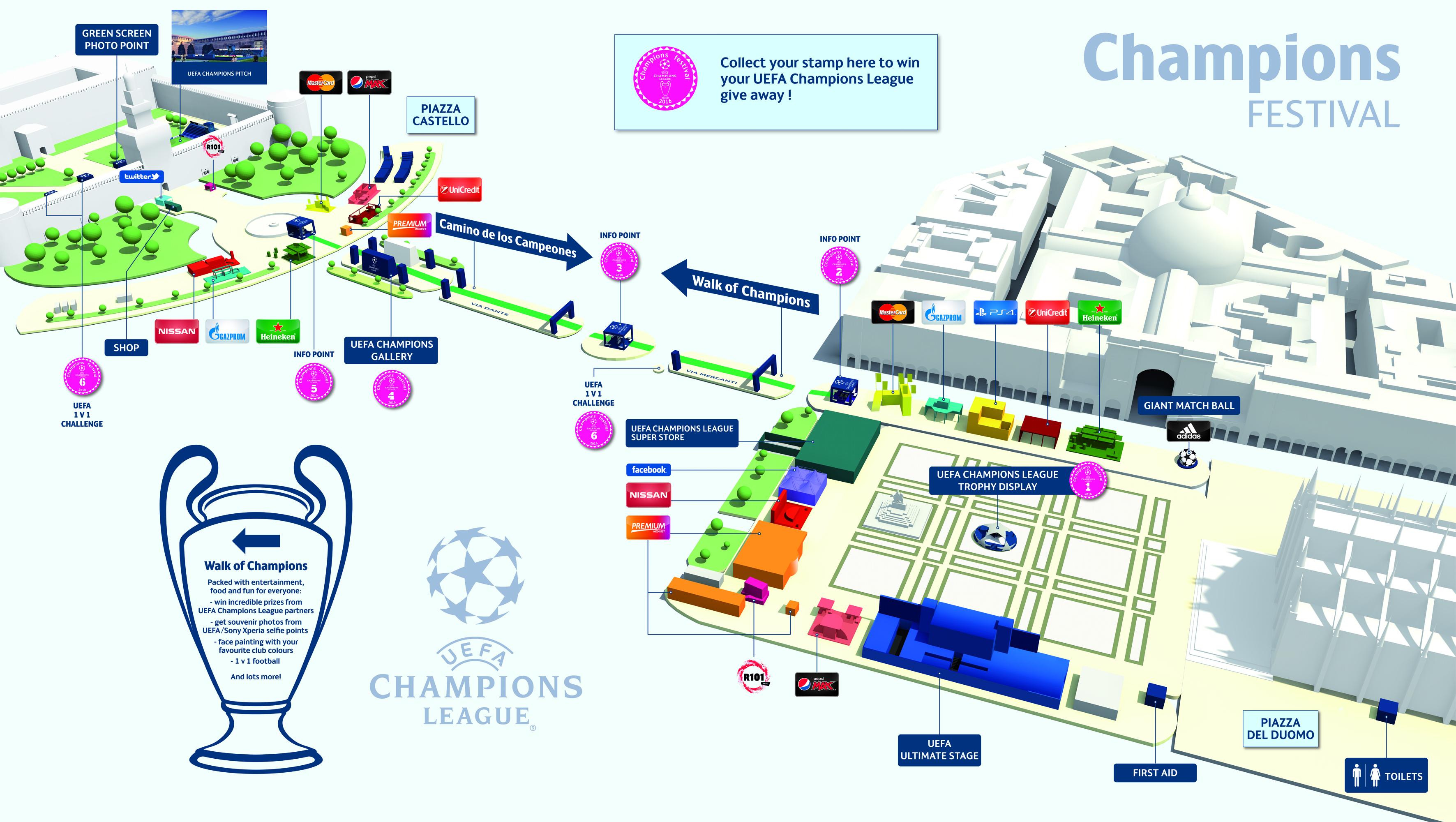 UEFA Champions Festival 2016 In Milan