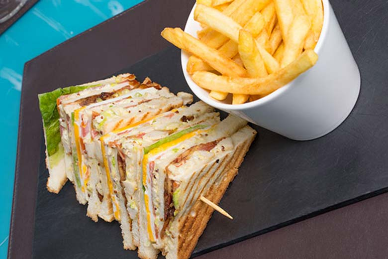 Sandwich from a Sunday brunch at Asola