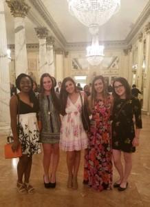 My night at La Scala with roommates.