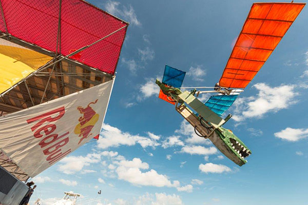'Red Bull Fugtag' Hand-Made Flying Machines Competition ...