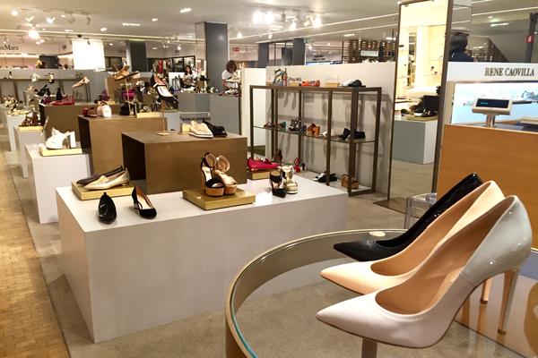 shoes rinascente floor