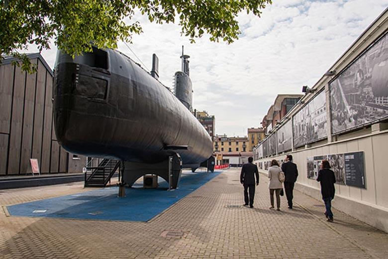 Photo of Enrico Toti Submarine