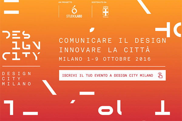 Design city milano 2016 where milan what to do in milan for Milano design 2016
