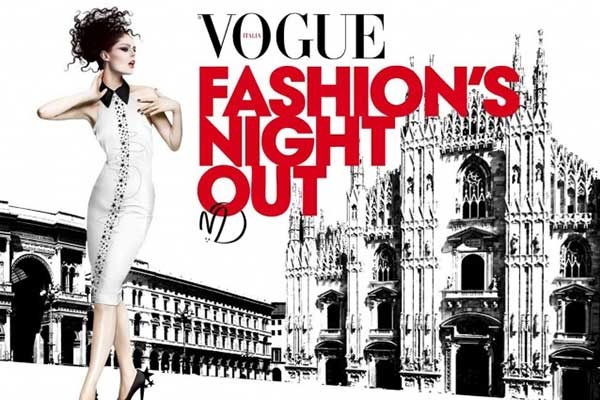 Vogue Fashion 39 S Night Out Sept 2017 Where Milan What To Do In Milan