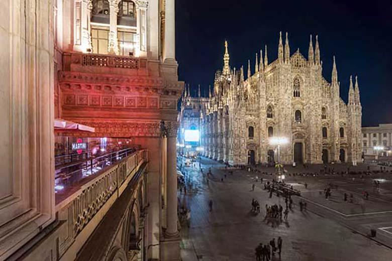 The terrace of Duomo 21