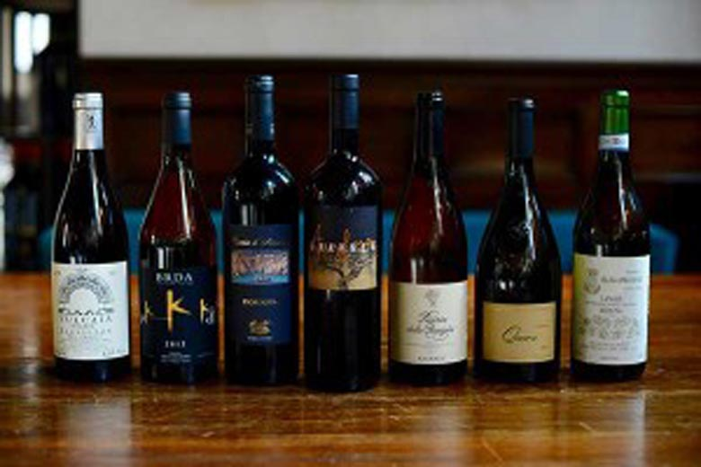 Photo of Wine selection from La Cantina Piemontese