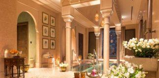 The spa of Palazzo Parigi