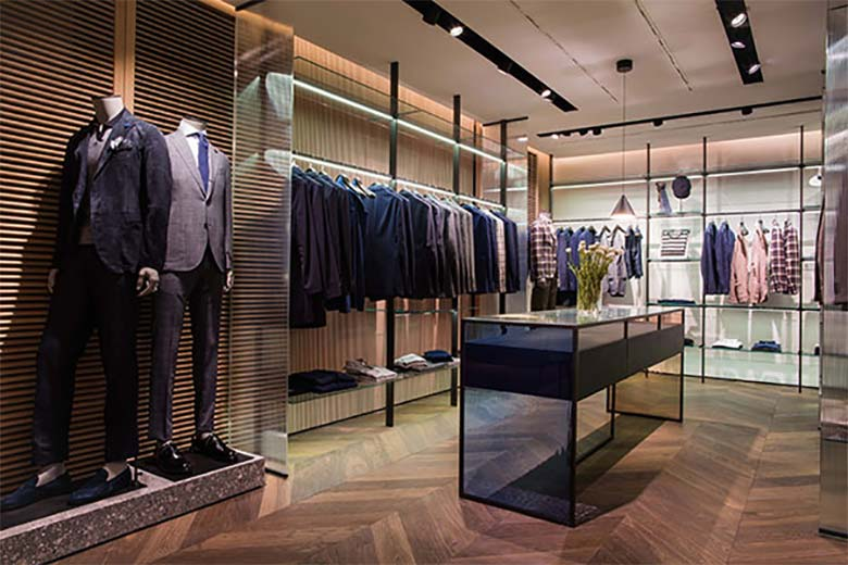 The Milanese Lardini store