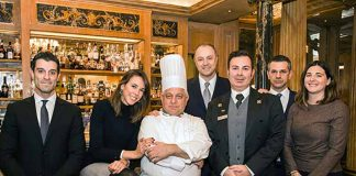 The staff of the Westin Palace Milan, photo credits Felice Lardieri