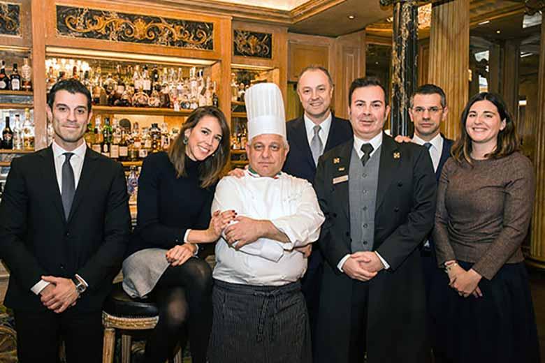 The staff of the Westin Palace Milan, photo credits Felice Lardieri