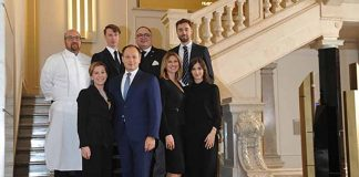 The staff of Excelsior Hotel Gallia, photo credits Casotti/Sardano