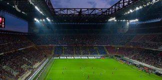 A match at San Siro Stadium