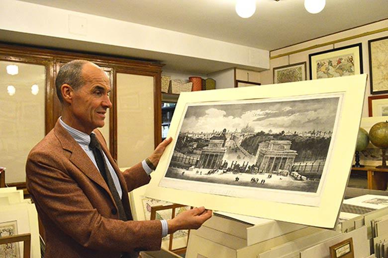 Photo of Antique print by Pettinaroli