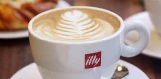 A cappuccino by Illy