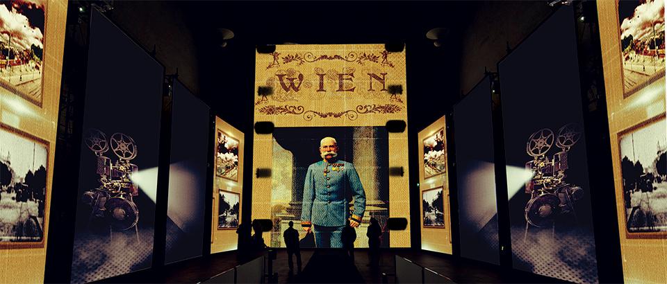 Get into Klimt's world through a multimedia exhibition