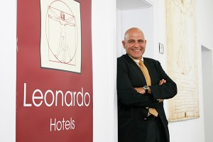 David Fattal, founder and CEO of Leonardo Hotels and Fattal Group