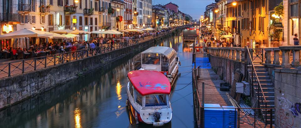 Enjoy a day cruise along the Navigli