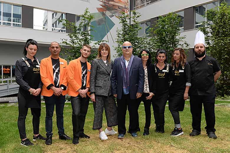 The staff of NYX Milan, photo credits Casotti/Sardano