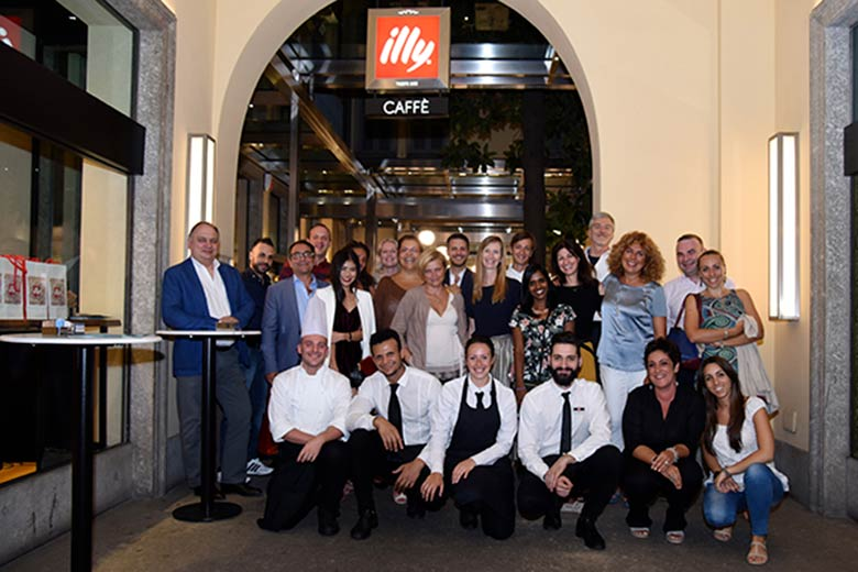 The event by Where with Illy and Milan concierges