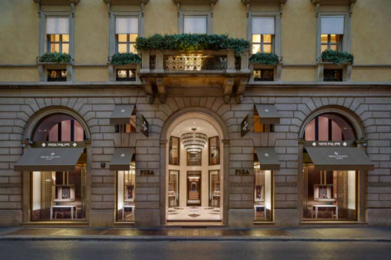 Patek Milan facade - all rights- reserved