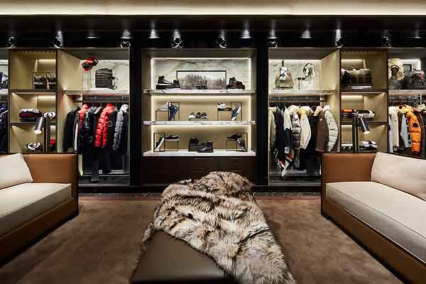 moncler opens its flagship store in via montenapoleone