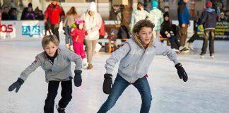 Ice Skating in Milan