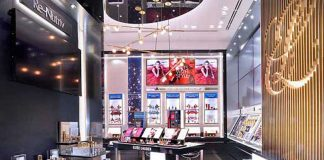 Estée Lauder First Monobrand Store in Italy