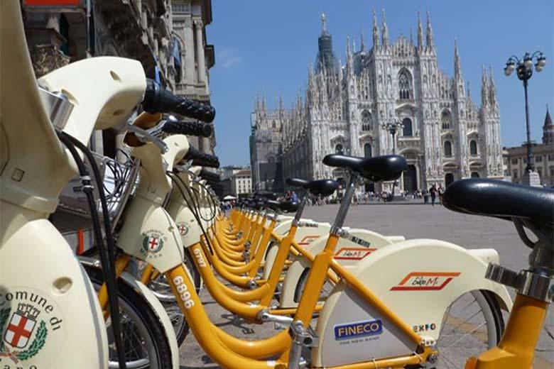BikeMi, bike sharing in Milan