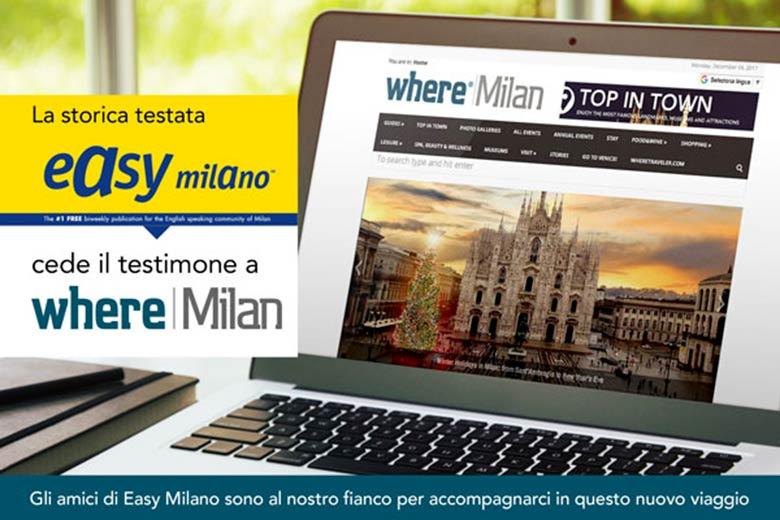 Easy Milano and Where Milan