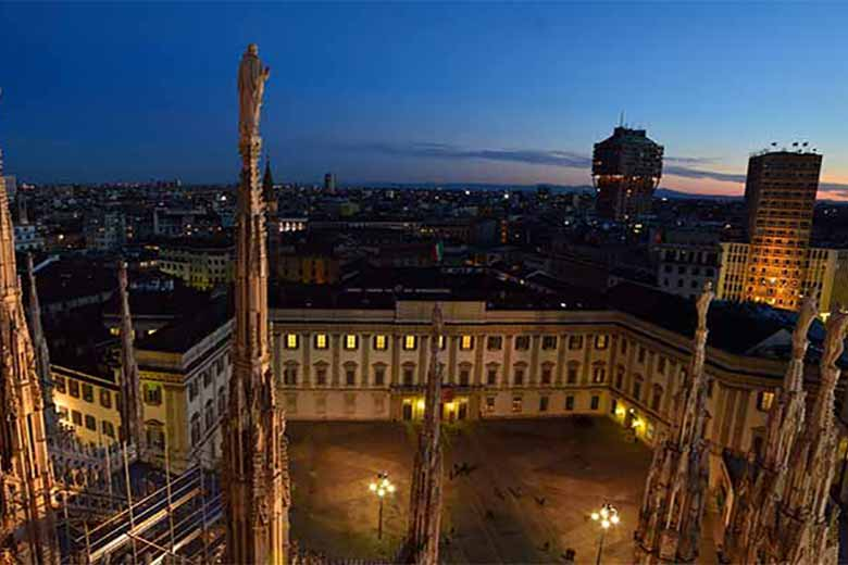 Palazzo Reale by Milano Panoramica