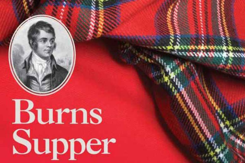 "The traditional scottish event ""Burns Night"""