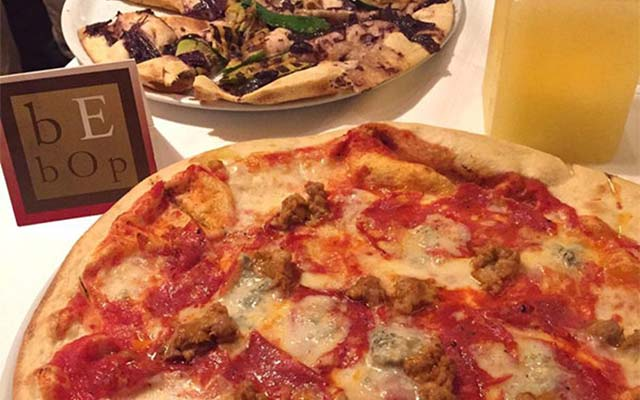 Gluten-free pizza by Be Bop