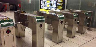 Tornelli in Milan underground, photo credits Urbanfile