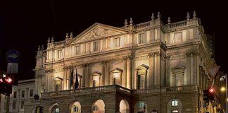 La Scala Opera House Milan - Façade